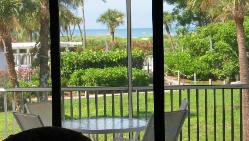Captiva Beach Villa 2112 photo viewfrom the condo overlooking the Gulf of Mexico